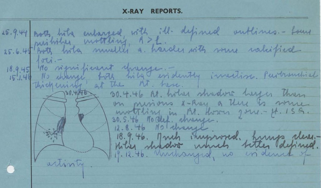 x-ray reports