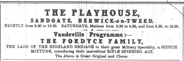 The Playhouse, Sandgate, Berwick-upon-Tweed