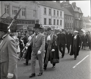 Berwick-upon-Tweed May Fair, 1968. Ref No. BRO 2103-1-624