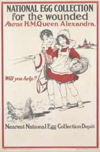 Poster National Egg Collection for the wounded
