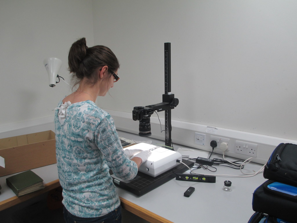 Digitising radiogrphs from microfiche