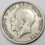 A half crown coin (2s 6d), the sum of which Mary Johnson from Lanark was fined, with the alternative of seven days imprisonment.