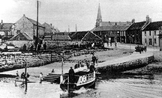 Spowart ferry landing and Spittal - Berwick Record Office BRO 1887-2-4