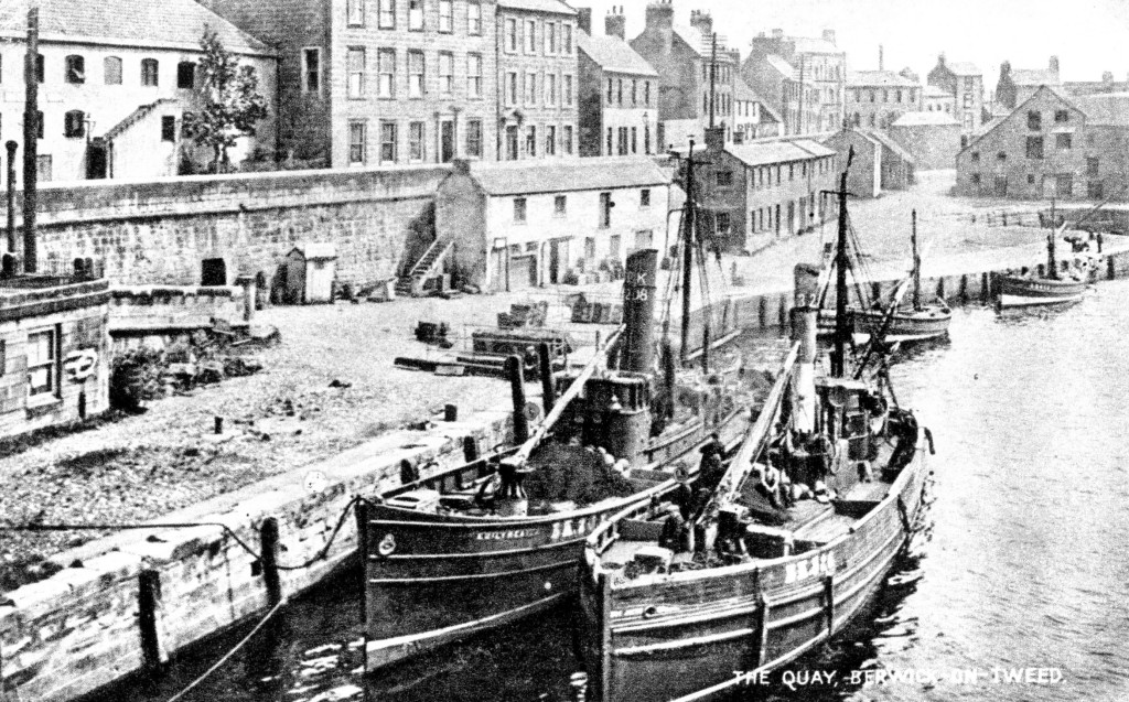 Photograph of the Berwick Quayside early 1900s © Berwick Record Office BRO 1636-5-6