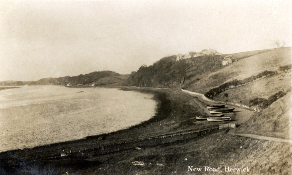 The New Road (a popular walk beside the River Tweed), Berwick-upon-Tweed. © Berwick Record Office - BRO 0426-119