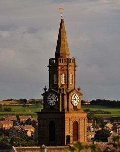 Berwick Town Hall, Steeple © Nifanion, Creative Commons Attribution-Share Alike 3.0 Unported license.