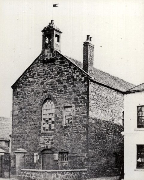Early photograph of St Paul's Church, Spittal. © Berwick Record Office. BRO 1887-4-3.