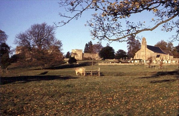 Ford Castle and Parish Church, part of the Ford and Etal estate. © N T Stobbs - Creative Commons Attribution-ShareAlike 2.0 license.