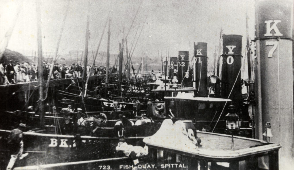 Herring boats© Berwick Record Office. BRO 1887-25-4.