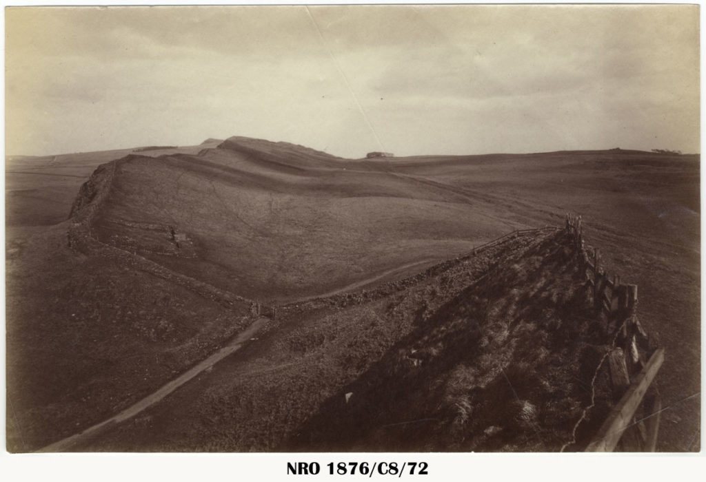 Cawfields Milecastle on the Roman Wall c.1900