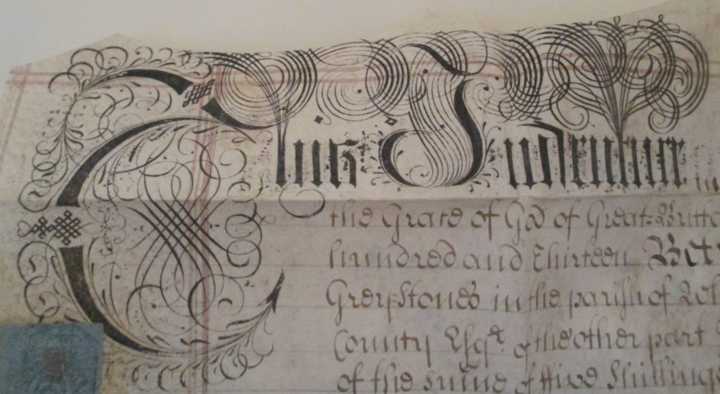 1729 indenture of lease and release