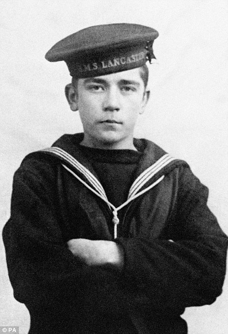 Jack-Cornwell-VC-aged-16-was-fatally-wounded-by-shrapnel-aboard-HMS-Chester