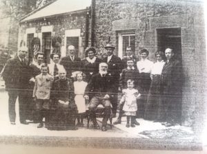 A 1910 photograph of the Atkin family of Corbridge kindly sent to us by John's Great-granddaughter. John and Margaret are 4th and 5th from left at the back, with Robert on the far right.